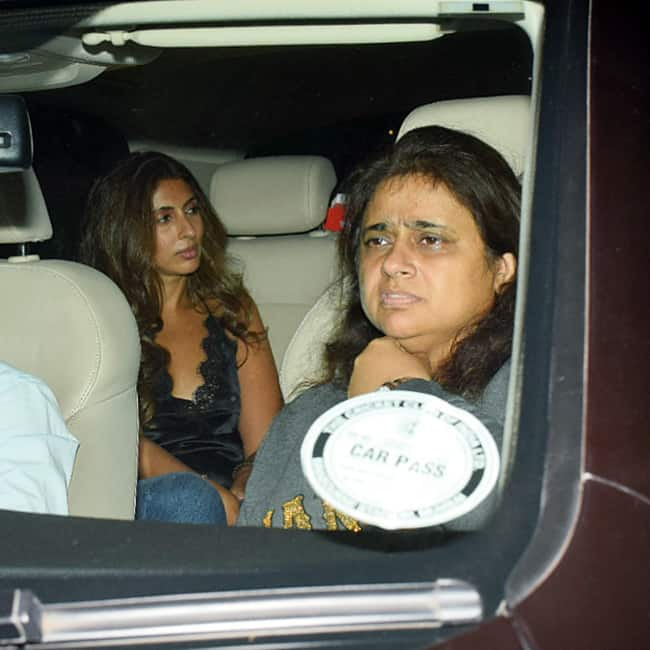 Shweta Bachchan Nanda at Farah Khan   s birthday party
