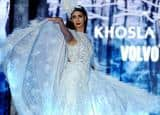 Angelic Shweta Bachchan Nanda turns showstopper for Khosla Jani fashion show in association with Volvo S90