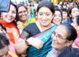 Textile Minister Smriti Irani attends Teej festival celebrations in New Delhi, see pics