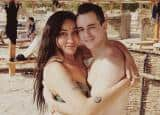 Sofia Hayat shares topless pictures from her honeymoon in Egypt