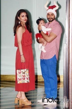 PICS: Salman Khan, Iulia Vantur, Katrina Kaif at Arpita Khan's starry Christmas bash