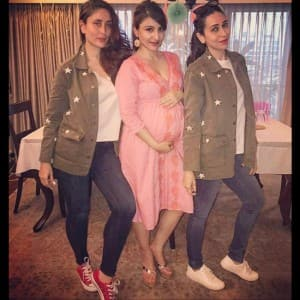 Inside pictures of Soha Ali Khan's star studded baby shower!