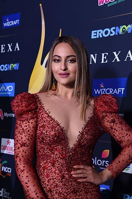 Sonakshi Sinha during IIFA 2017