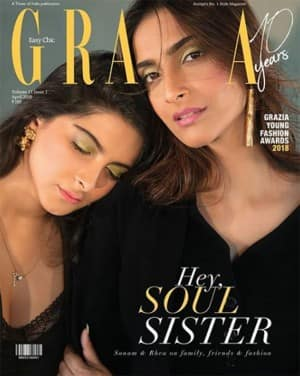 Soul Sisters Sonam Kapoor And Rhea Kapoor Glam Up For Magazine Photoshoot