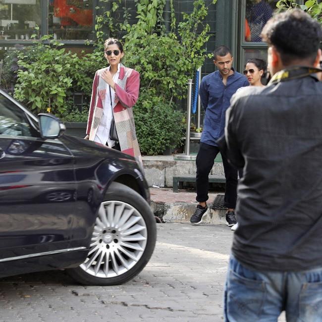 Sonam Kapoor with boyfriend Anand Ahuja
