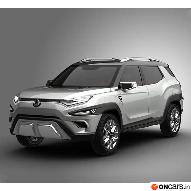 SsangYong Motor Company Showcased A Concept Model Of Their Future SUV At The On Going 2017 Geneva Show Name This Futuristic Is
