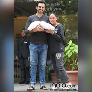 PHOTOS: Esha Deol and Bharat Takhtani blessed with a baby girl