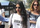 PHOTOS: Suhana Khan, Gauri Khan leave for Alibaug for Shah Rukh Khan's birthday celebrations