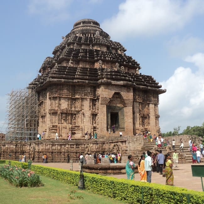 Sun Temple in Konark, Odisha