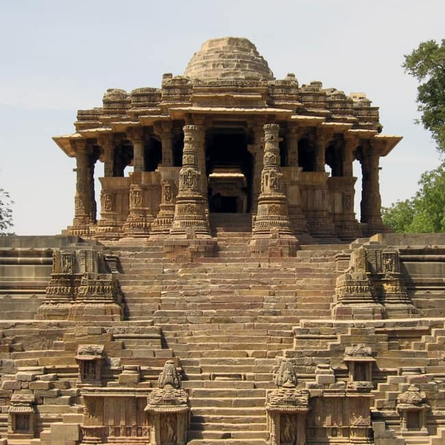 Sun Temple in Modhera  Gujarat