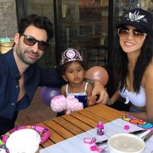 Sunny Leone celebrates daughter Nisha's birthday in Disneyland with husband Daniel Weber