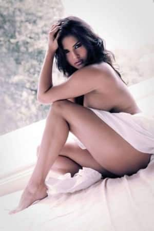 Hot half nude poses