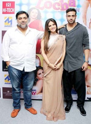 Sunny Leone, Ram Kapoor promote Kuch Kuch Locha Hai in Delhi