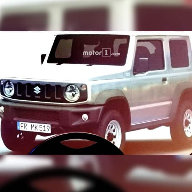 Suzuki Jimny 2018 Check Out Its Expected Features And