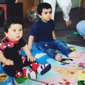 PICS: Taimur Ali Khan's play date with Tusshar Kapoor's son Laksshya Kapoor