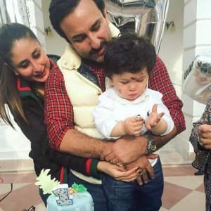 Pictures from Taimur Ali Khan Pataudi's first birthday celebrations are simply delightful!