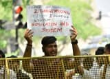 CBSE Paper Leak: Students continue to protest against re-examination