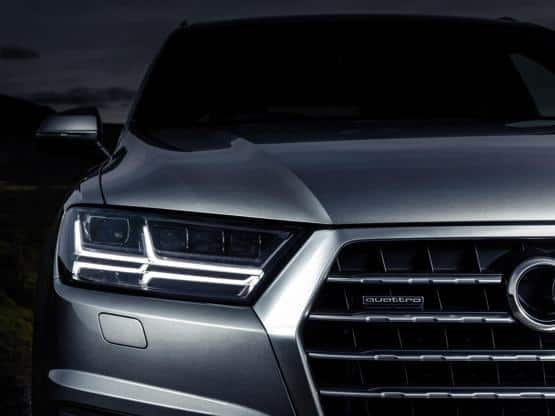 the rear profile of next generation audi q7 suv continues. Black Bedroom Furniture Sets. Home Design Ideas