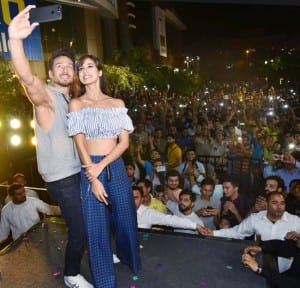PICS: Tiger Shroff couldn't keep hands off alleged girlfriend Disha Patani during Baaghi 2 promotions