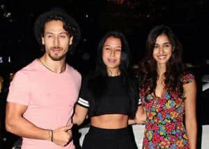 PHOTOS: Disha Patani gelling with boyfriend Tiger Shroff's sister Krishna and mother Ayesha is such a cute sight!