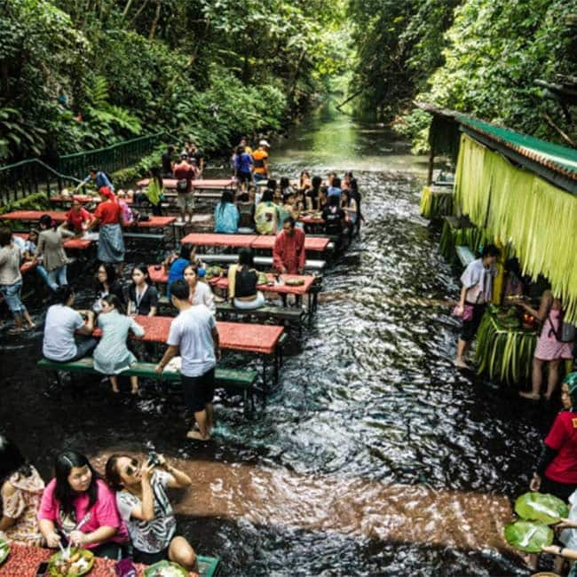 Pics Of Labassin Waterfall Restaurant In Philippines Will