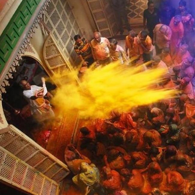 Traditional Holi of Mathura and Vrindavan