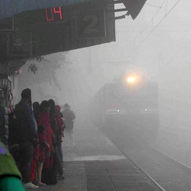 Trains cancelled and delayed in Delhi due to low visibility