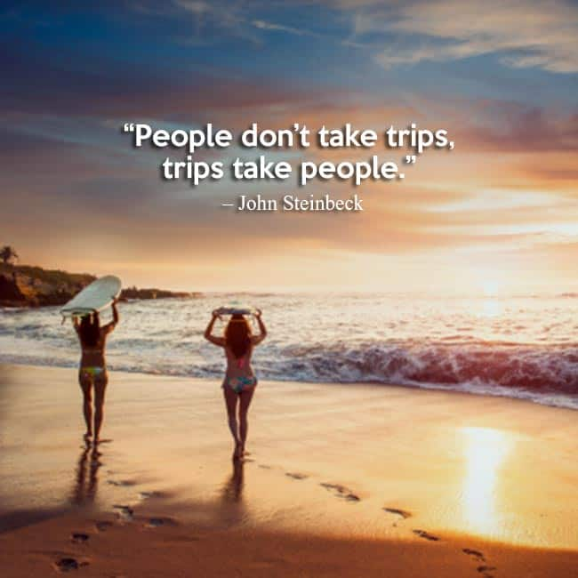 Travel Quote By John Steinbeck