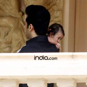 First Look: Daddy Tusshar Kapoor gives glimpse of son Laksshya