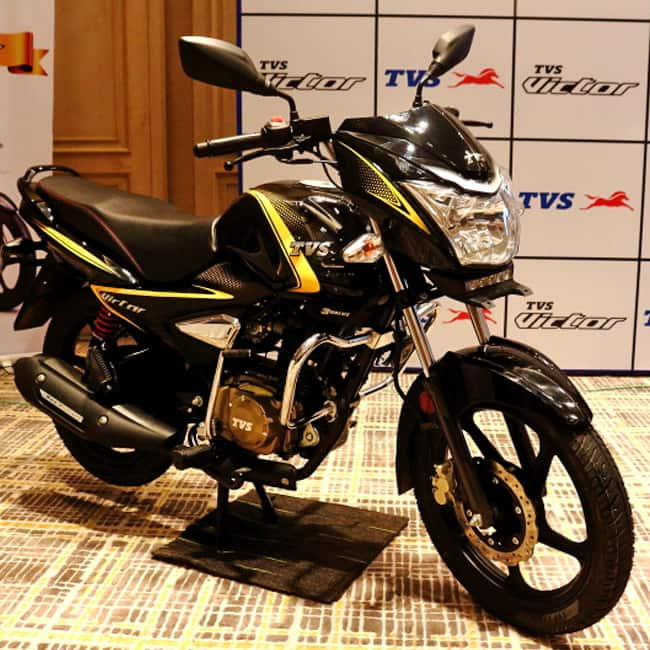 Tvs Victor Premium Edition Comes With Led Drl Tvs Victor Premium