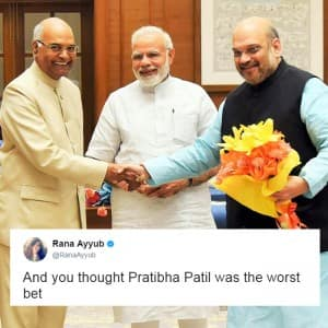 Indian Presidential Elections 2017: Twitter reactions against Ram Nath Kovind!