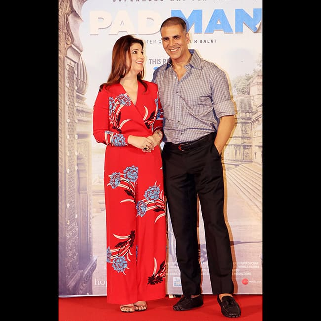Twinkle Khanna at song launch of Padman
