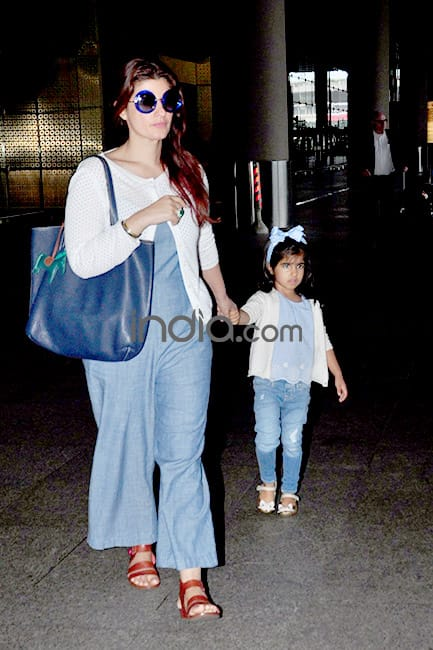 Akshay Kumar and Twinkle Khanna are back from their ...