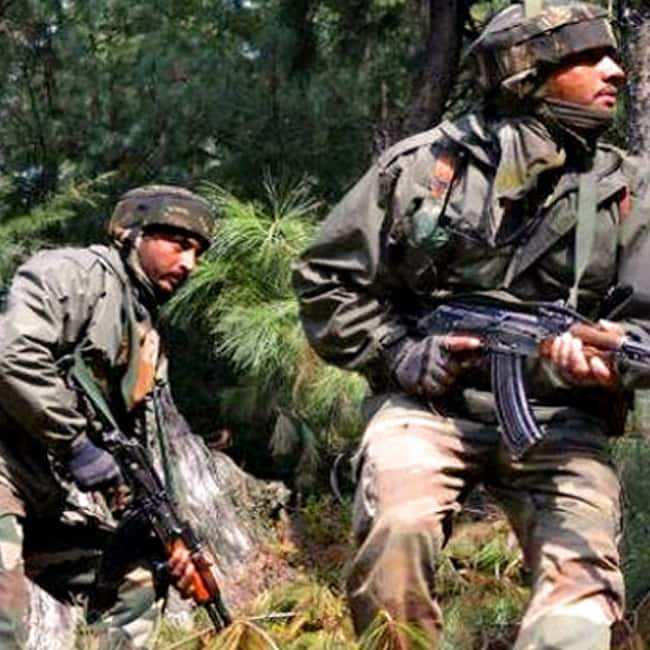 Two terrorists killed in Jammu and Kashmir   s Shopian district  search operation underway