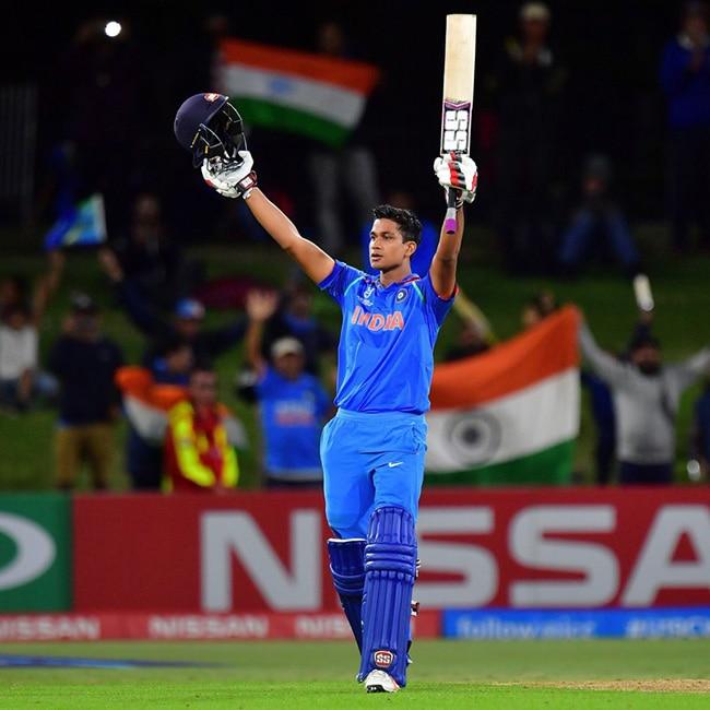 Under 19 Indian team batsman