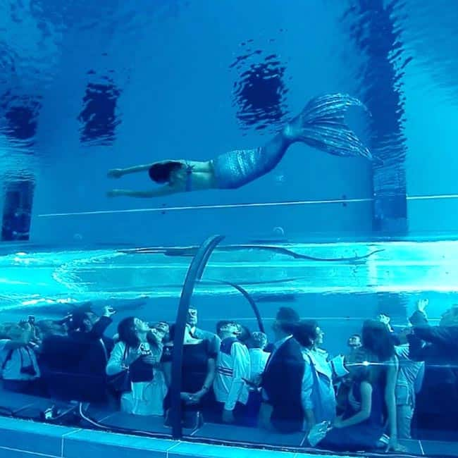 Thrilling Pics Of World S Deepest Swimming Pool Y 40 The Deep Joy In Italy Will Make You Pack