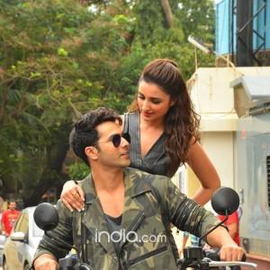 Dishoom song launch: Parineeti Chopra and Varun Dhawan launch Jaaneman Aah in style, see pics