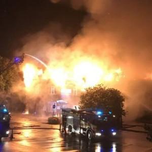 PHOTOS: Major fire engulfs Weybridge Community Hospital in United Kingdom; no causalities reported!