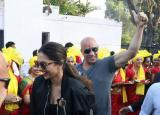 Deepika Padukone and Vin Diesel in India: Hollywood sensation Vin Diesel receives a grand welcome in India
