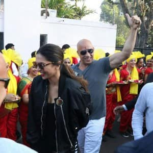 Deepika Padukone and Vin Diesel in India: Hollywood sensation Vin Diesel receives a grand welcome in India