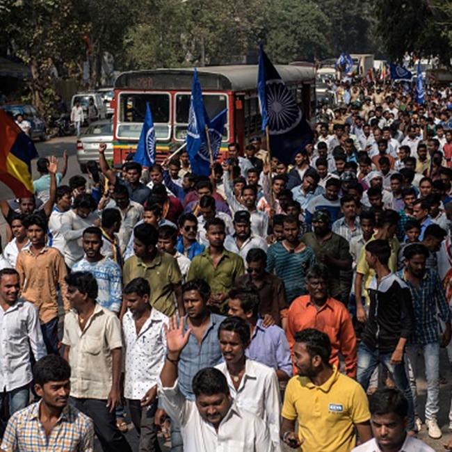 Violence ridden areas of Mumbai