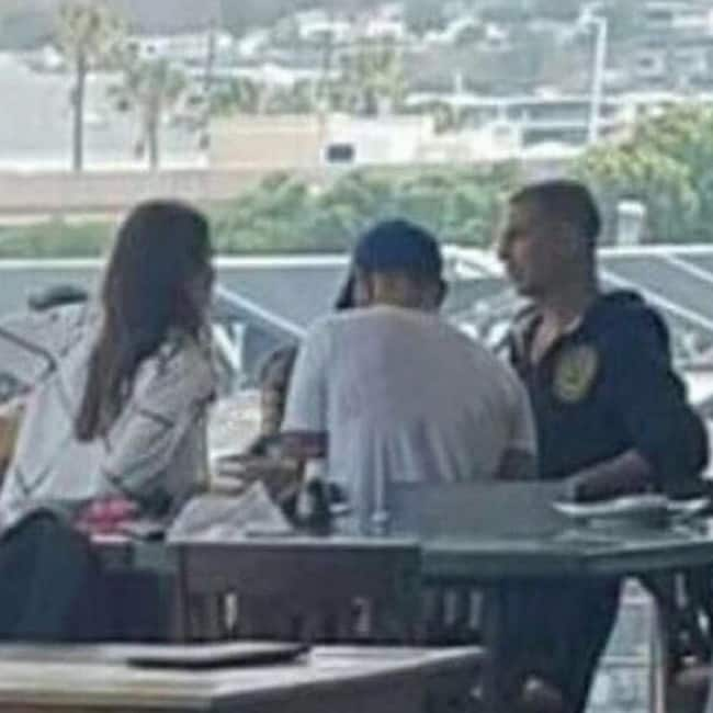 Virat Kohli and Anushka Sharma with Akshay Kumar in Cape Town