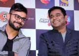 Virat Kohli to turn singer for A.R Rahman's Premier Futsal anthem, see pics here