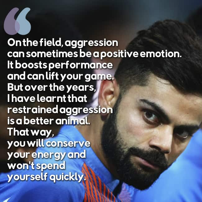 Quotes By Famous Indian Personalities: Virat Kohli And His Inspirational Quote