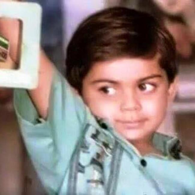Virat Kohli in his childhood | These cute pics of Virat ...