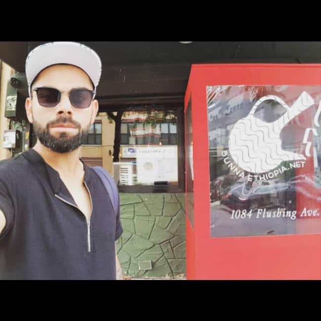 Virat Kohli   s selfie in  Brooklyn