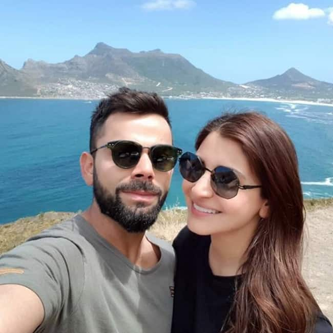 Virat Kohli   s selfie with Anushka Sharma in Cape Town