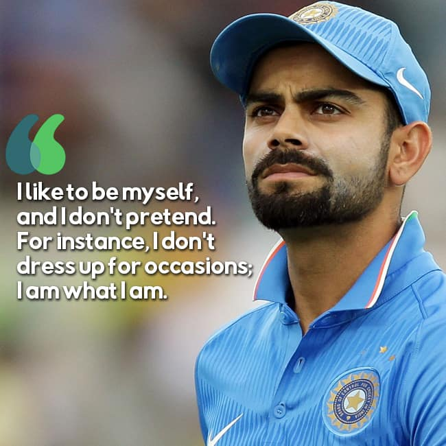 Quotes By Famous Indian Personalities: 11 Inspirational Quotes By Cricketer Virat Kohli That Will