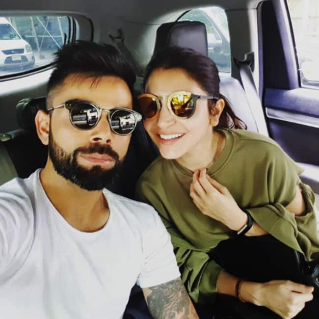 Virat Kohli's vacation selfie with girlfriend Anushka Sharma