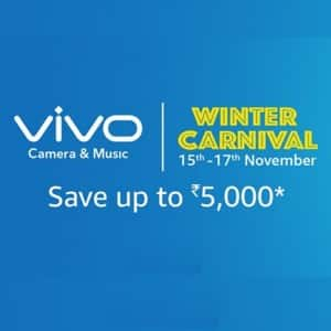 Vivo Winter Carnival Sale: Check out exciting offers and deals on leading Vivo smartphones